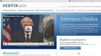 El gobierno de EU lanzó un nuevo sitio de servicio voluntario en español...