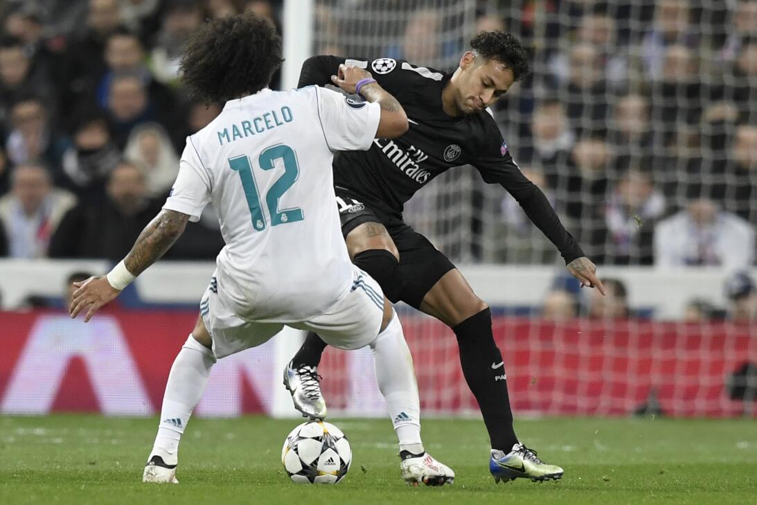 Real Madrid venció 3-1 al PSG en octavos de final de Champions League ge...