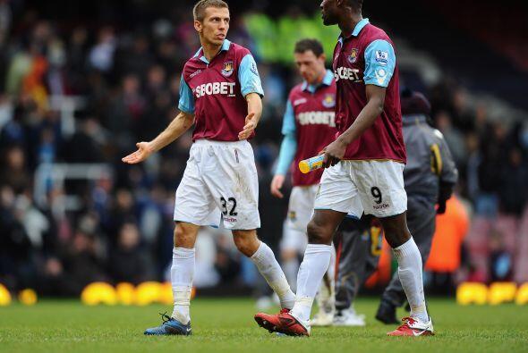 El West Ham, que no contó con Pablo Barrera, no podía creer lo que pasaba.
