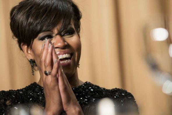 Siguiendo el tono de broma, Obama dijo que el cambio más drástico para l...