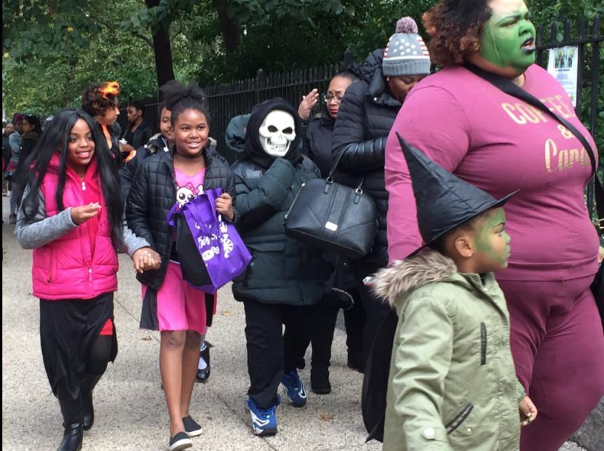 Cientos de personas compatieron un sábado de emociones en Gracie Mansion.