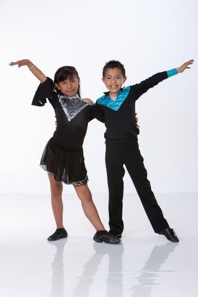 Alexa y Aoky, bailarines de Rebeldes