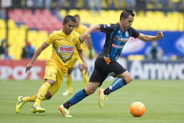 George Corral, el lateral de los Gallos del Querétaro ha destacado con e...