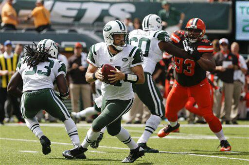 Los Browns, dirigidos por Johnny Manziel, no pudieron ante los Jets lide...