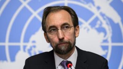 Zeid Ra'ad Al Hussein, alto comisionado de Naciones Unidas para los dere...
