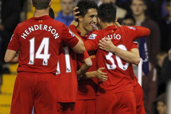 Nuri Sahin volvía a marcar para que el Liverpool se llevara la victoria...