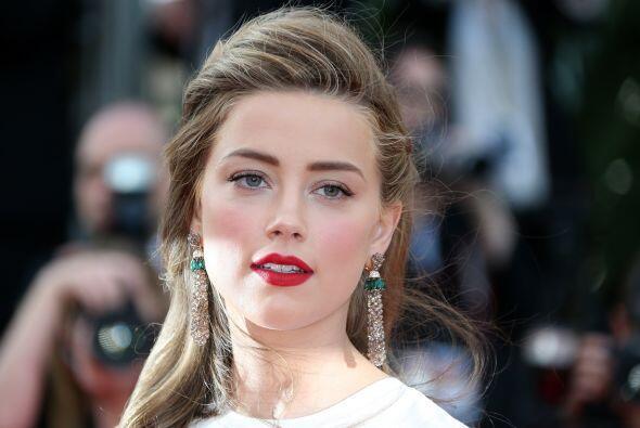 La modelo y actriz Amber Heard está en la lista de talentos prometedores...