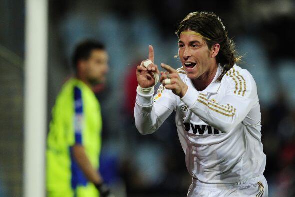 Ramos suma un tanto más a su carrera.
