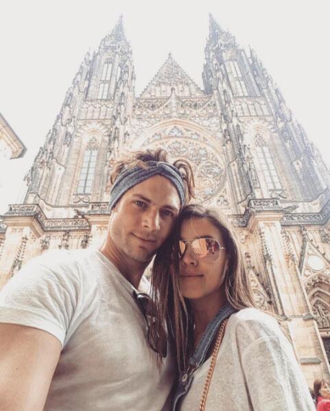 Horacio Pancheri y Paulina Goto en Europa