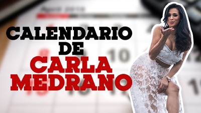 📸 El calendario de Carla Medrano que promete subir la temperatura