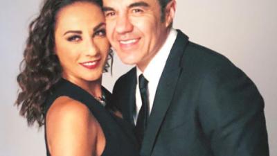 ¡Adrián Uribe y Consuelo Duval se convirtieron en 'Adan y Eva'!