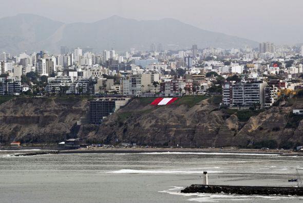 Chile insistía que la frontera pasara por una línea horizontal con respe...
