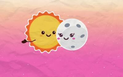 La eterna historia de amor entre el sol y la luna