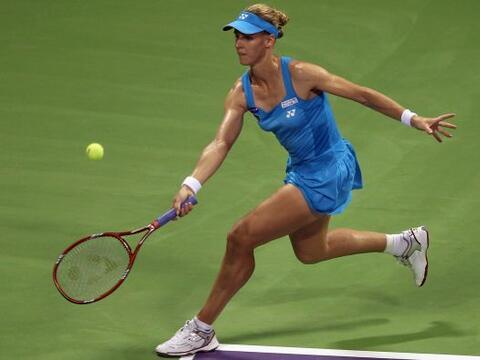 La rusa Elena Dementieva sucumbió en su primer partido del Master...