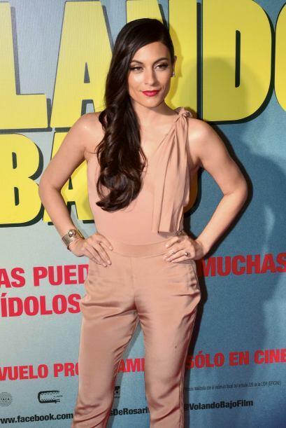 """En el 2014 volvió al cine con la película """"Volando Bajo"""", en donde compa..."""