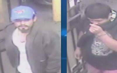 Un par de sospechosos entraron a robar el restaurante Mundo Latino de la...