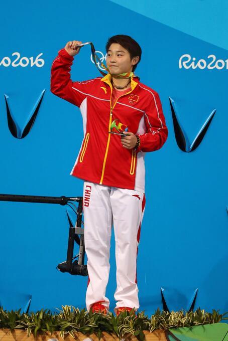 El medallista más joven fue el chino Ren Qian, campeón de plataforma 10...