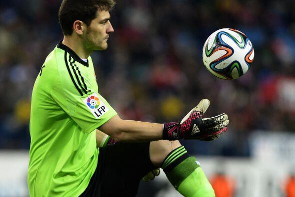 Iker Casillas ha mantenido la puerta del Madrid sin goles en contra en C...