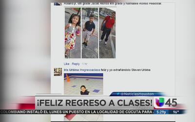 Fotos del regreso a clases en Houston