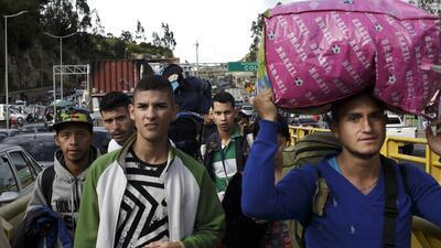 📷 El éxodo venezolano en Ecuador: entre la solidaridad y las puertas que se cierran