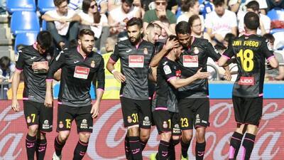 Espanyol con Diego Reyes ganó en Riazor y complicó la permanencia del Dépor