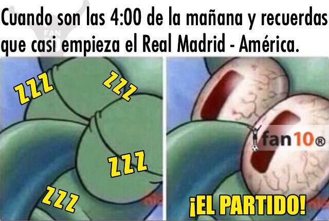 Memes américa vs. real madrid