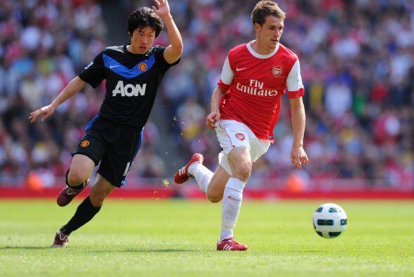 El Arsenal fue dominador en cuanto a la posesión del balón, ante el líde...