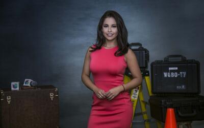 Diana Pérez, presentadora de Univisuion Chicago