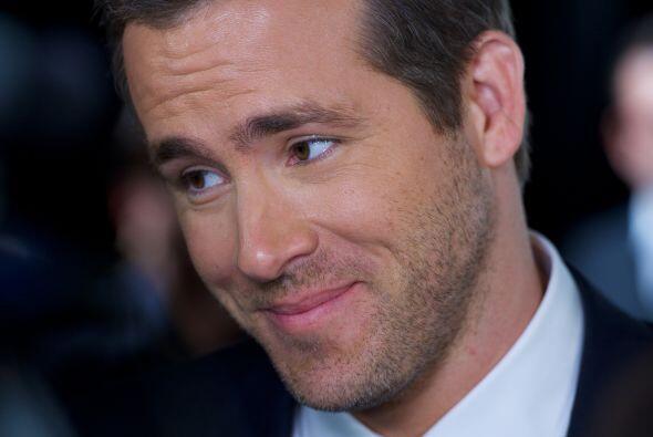 10. Ryan Reynolds. Esta estrella logró colarse en el top ten, de la mano...