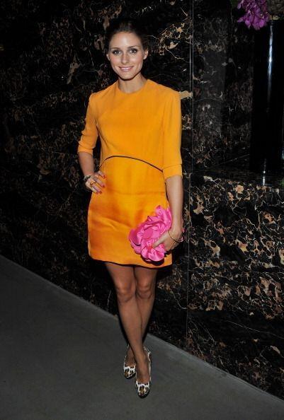 Olivia Palermo es otra diva que gusta de esta marca. De nuevo el color n...