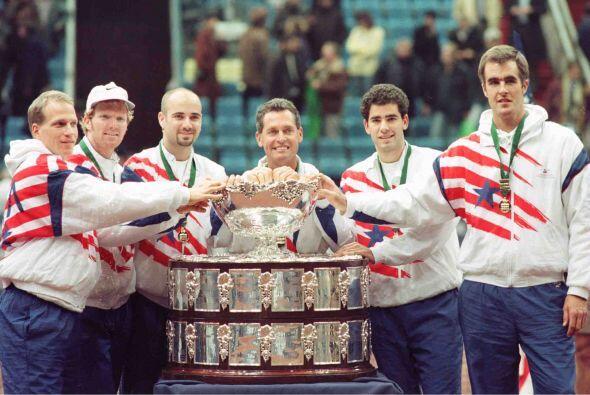 Andre Agassi fue un consecuente representante de Estados Unidos en Copa...