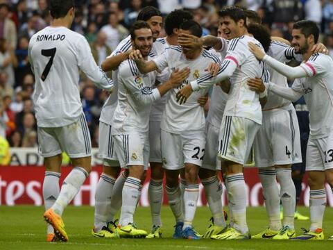 Real Madrid derrotó 2-0 al Malaga en un partido en el que pudo ha...