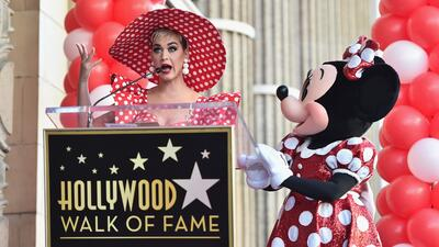 Minnie Mouse honored with Hollywood Star