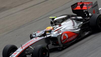 El equipo McLaren se ve como la escudería a vencer en este principio de...