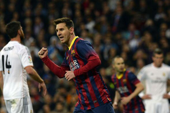 Con este gol, 'Leo' sumaba 20 goles ante su archirrival.