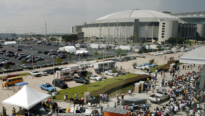 El Astrodomo fue para muchos habitantes de Nueva Orleans la puerta de en...