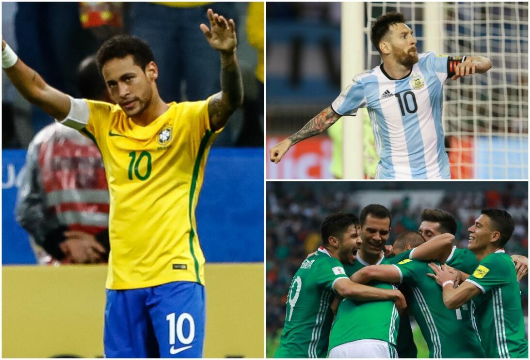 El ranking FIFA mantiene a Brasil como el rey del mundo; el 'Tri' sigue...