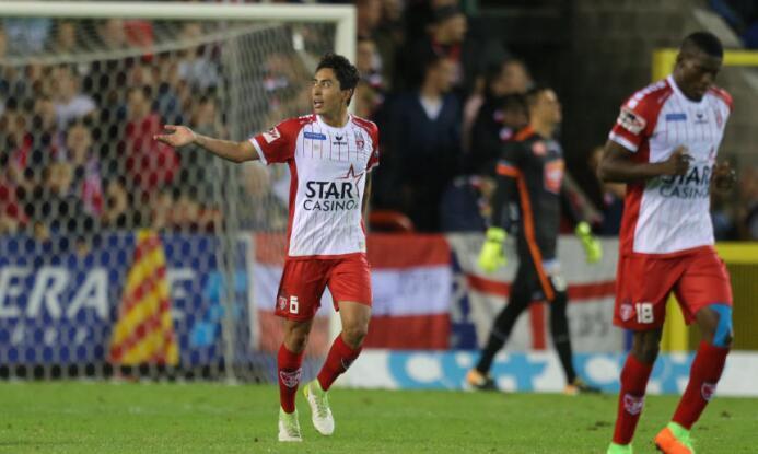 (Pro League) Mouscron [2]-2 Mechelen: Omar Govea jugó los 90 minutos en...