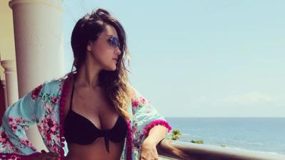 Dulce María y su sexy colección de bikinis