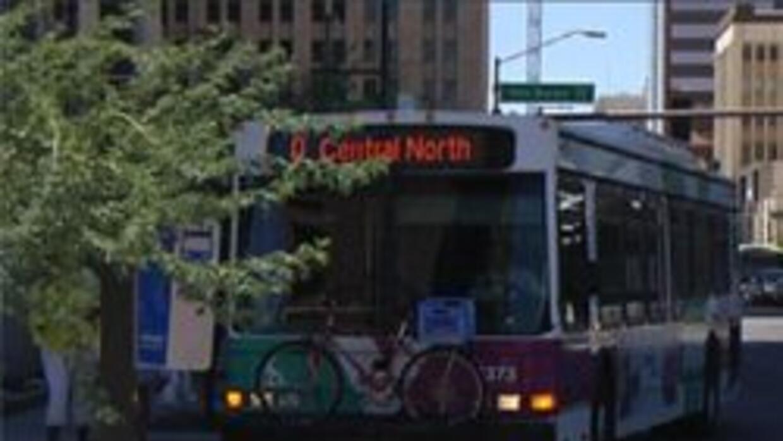 Autobus público de la ciudad de Phoenix