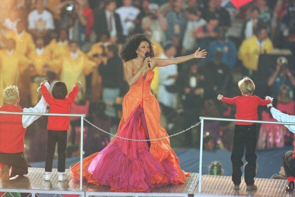 Diana Ross participó en la celebración de los 30 años de la celebración...