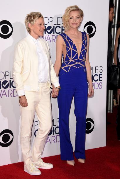 ¡Oh-la-la! Portia de Rossi lució bellísima con ese 'jumpsuit' de Zuhair...