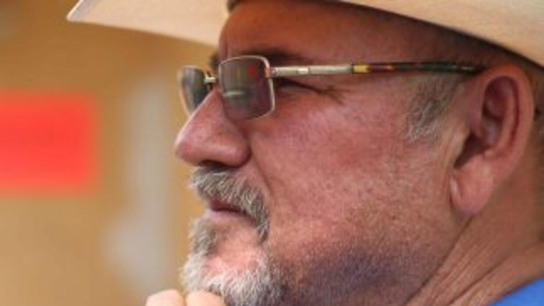 El fundador de las autodefensas en Michoacán, Hipólito Mora.