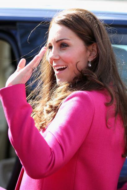 Kate ya está de licencia de maternidad y cuenta los días para que llegue...