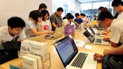 El gigante tecnológico  Apple prevé abrir en septiembre una nueva tienda...