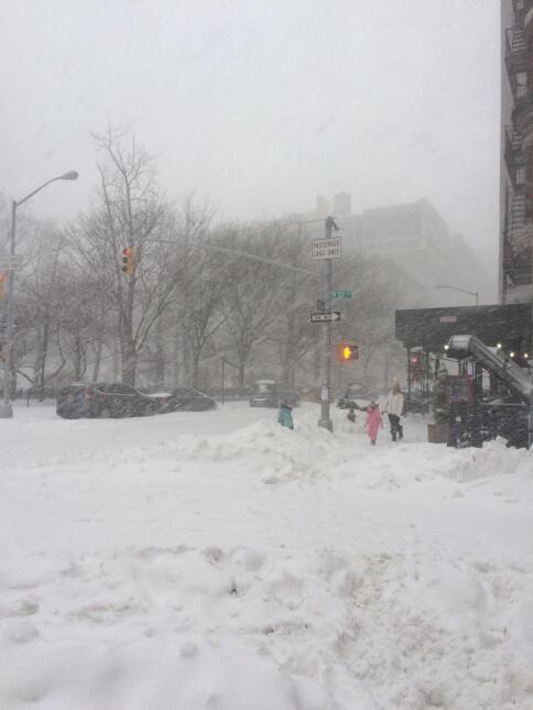 Neoyorquinos se aventuran en Central Park durante tormenta 4.JPG