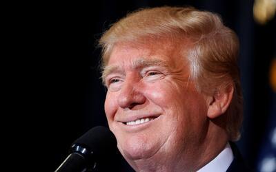 Donald Trump durante un mitin en Tampa, Florida, en noviembre.