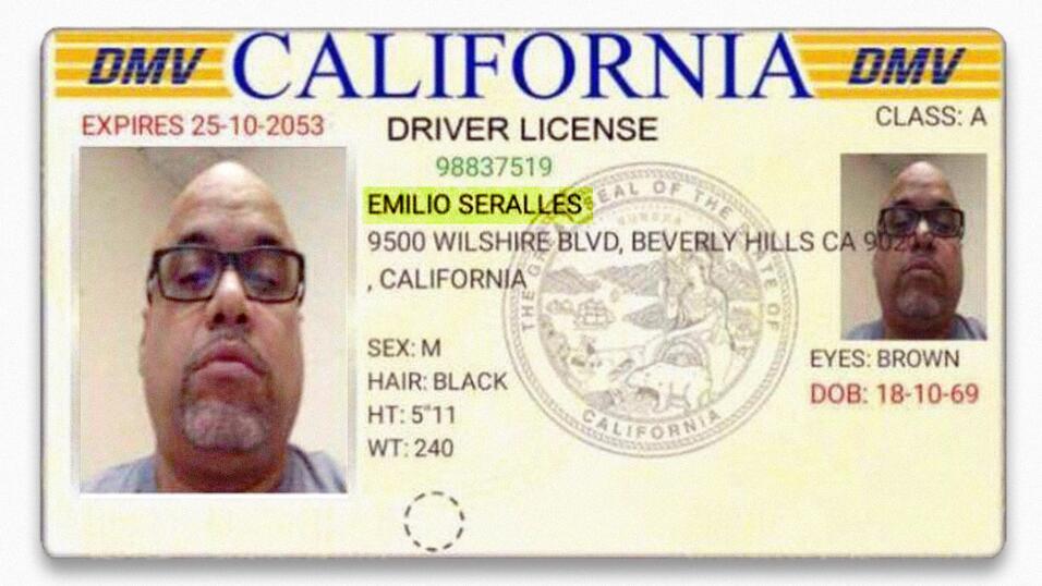El impostor utilizó una identificación falsa, y su nombre...