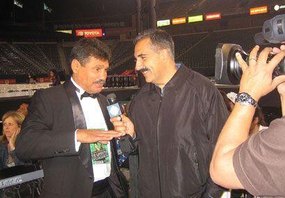 Esto fue en la pelea De la Hoya-Forbes en mayo del 2008 en Los Angeles.