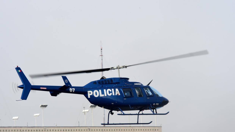 Helicóptero policial de Ciudad de México